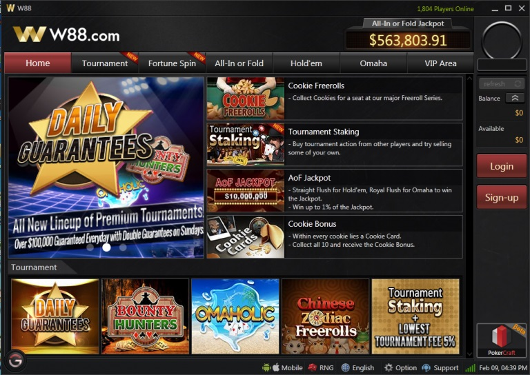 Hướng dẫn cách chơi bài poker online tại nhà cái W88