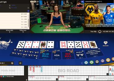 Hướng dẫn cách chơi Bull Fight online tại nhà cái casino W88