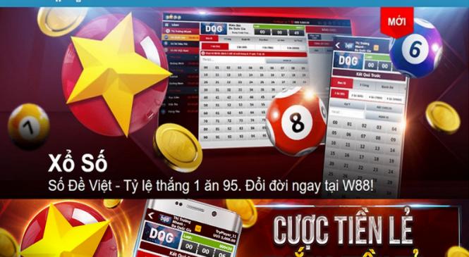 Tham gia chơi số đề thắng tiền tỷ tại nhà cái w88