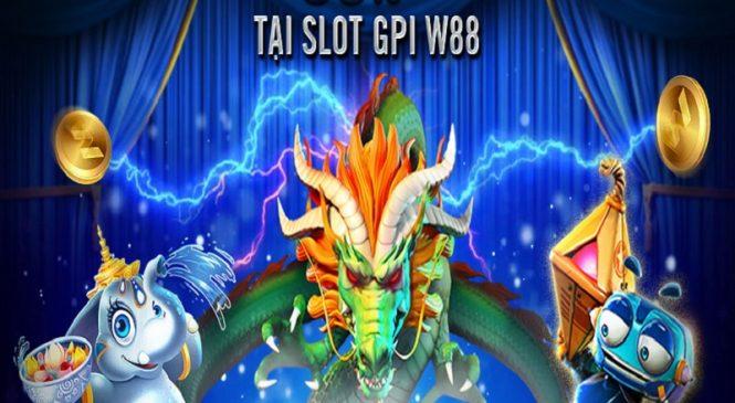 Nhận 50% điểm thưởng tại slots GPI tại nhà cái w88