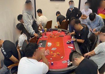 Triệt phá nhóm sòng bạc bằng hình thức chơi bài Poker